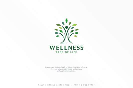 Wellness Tree Logo