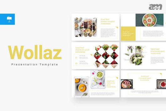 Wollaz - Creative Keynote Template