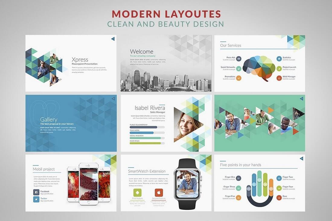 60+ Beautiful, Premium PowerPoint Presentation Templates 68