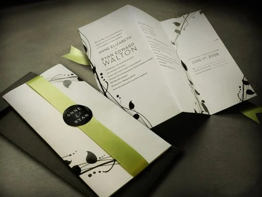 18 Wedding Invitation Designs That Reflect The Style