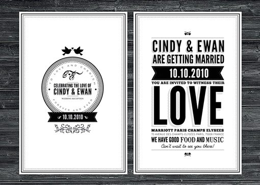 Jeslyn And Chris Wedding Invite By Emory Cash
