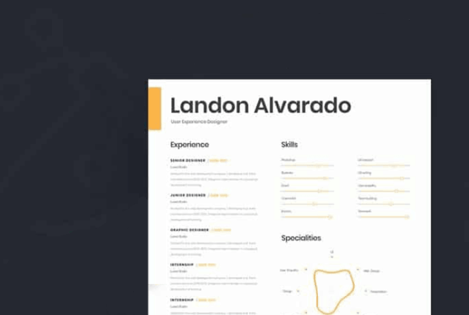 20 Best Free Resume Templates For