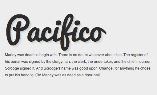 The 10 Best Script And Handwritten Google Web Fonts