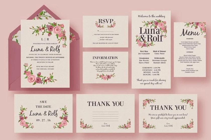 Sle Wedding Invitation