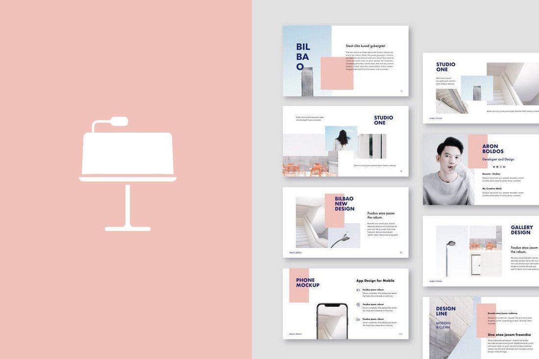 50 Best Minimal Creative Keynote Templates Design Shack