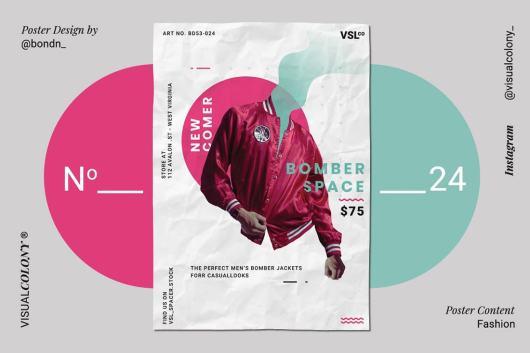 poster color scheme
