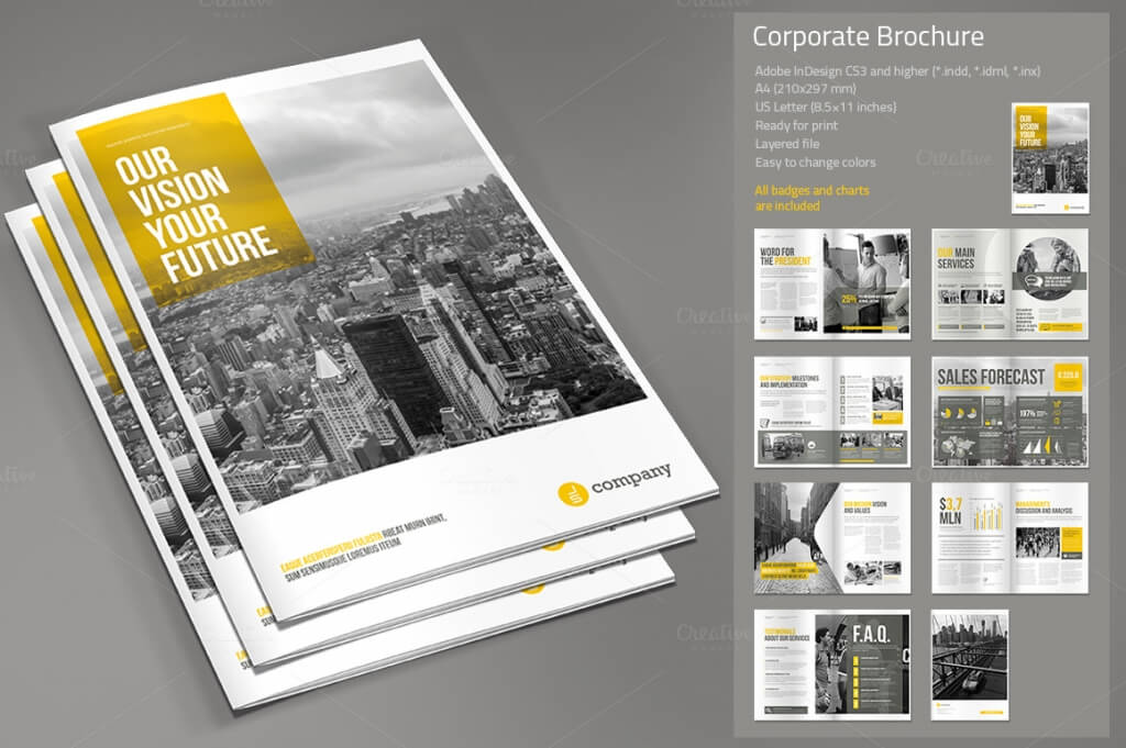 preview 1 vol 2 o 1 1024x681 - 70+ Modern Corporate Brochure Templates