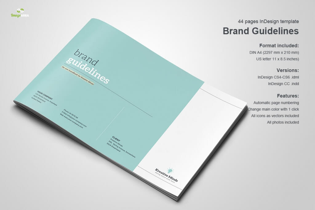 preview brand book o 1024x682 - 70+ Modern Corporate Brochure Templates