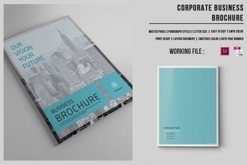 preview o 1 1024x683 - 70+ Modern Corporate Brochure Templates
