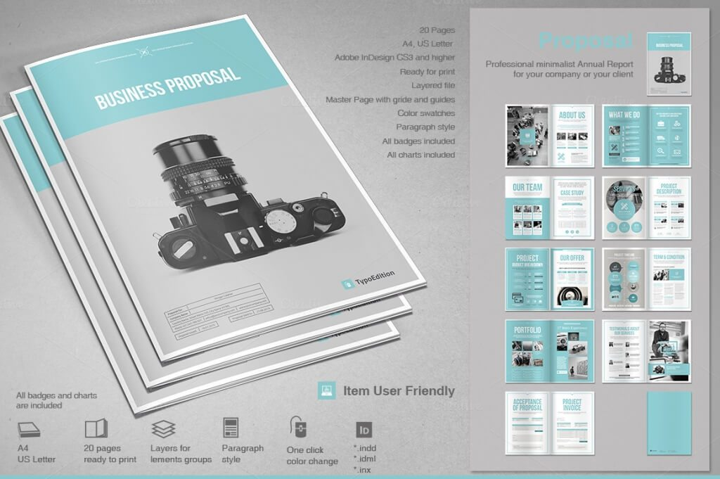 proposal 1 o 1024x681 - 70+ Modern Corporate Brochure Templates