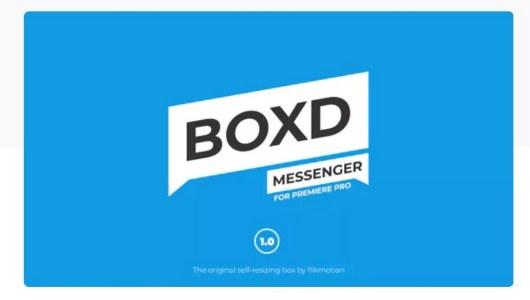 text message premiere pro template