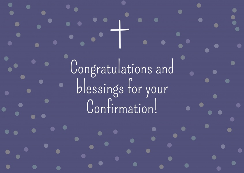 BLESSINGS Communion Cards Send Real Postcards Online