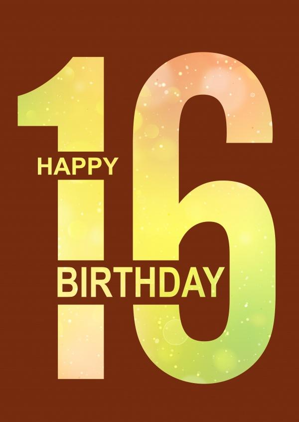 Spruche Zum 16 Geburtstagsspruche 16 Geburtstag 2020 02 16
