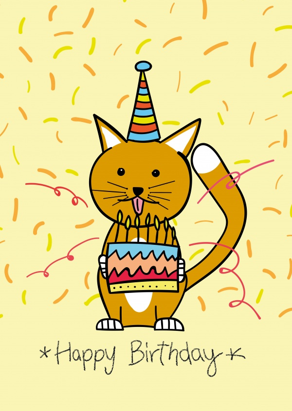 Free Printable Happy Birthday Cards Online Customized Cards Printed Mailed For You International Online Or With Our Free Postcard App