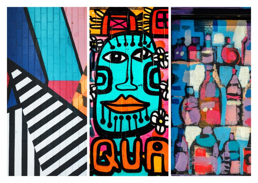 Street Art Worldwide Collage Art Photo Illustration Cards Send Real Postcards Online