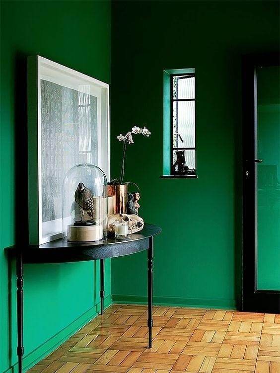 colour inspiration; emerald