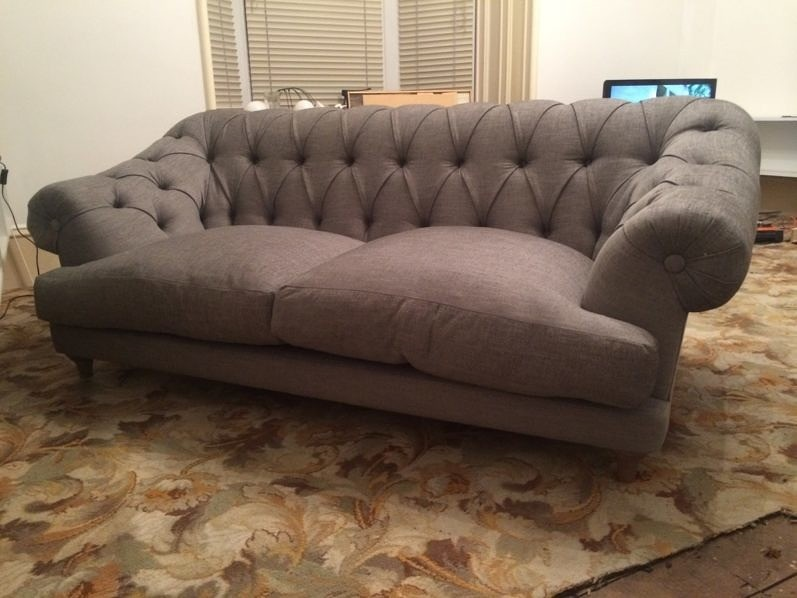 Living Room Furniture; Loaf Bagsie Sofa