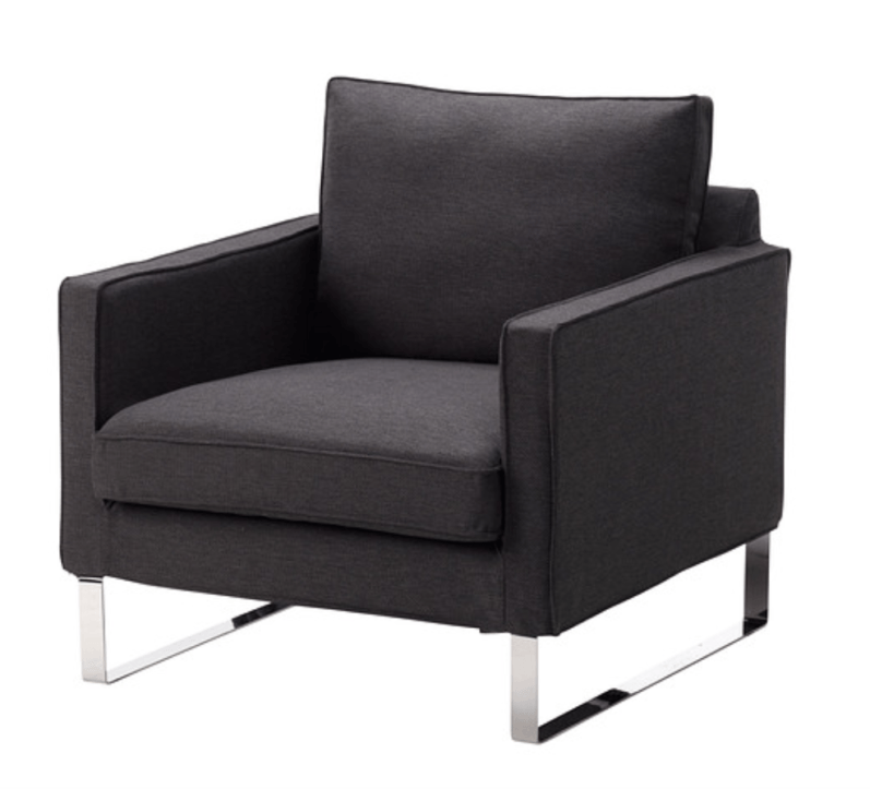 Living Room Furniture; IKEA Mellby armchair