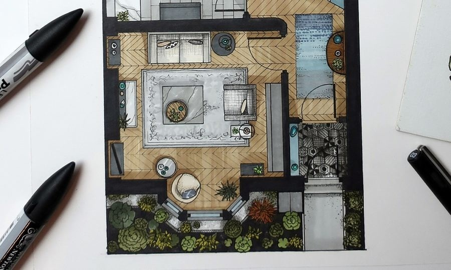 Our Home Extension Plans Part Two; Floor Plans.