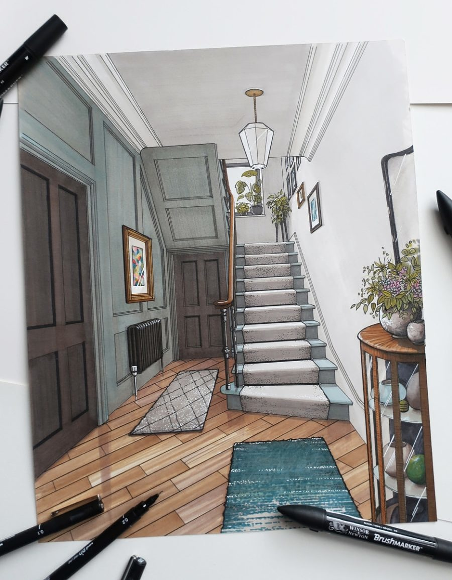 Stair and Hallway Planning