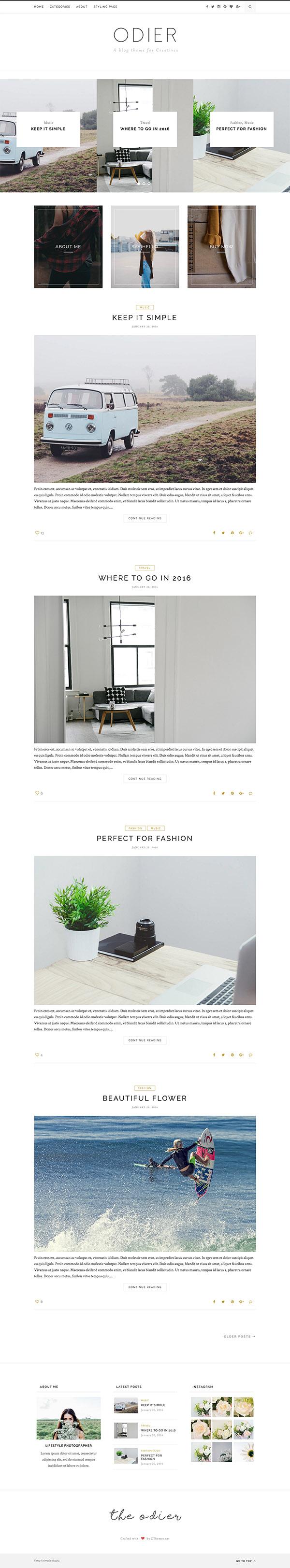 20 best responsive wordpress blog magazine themes design slots