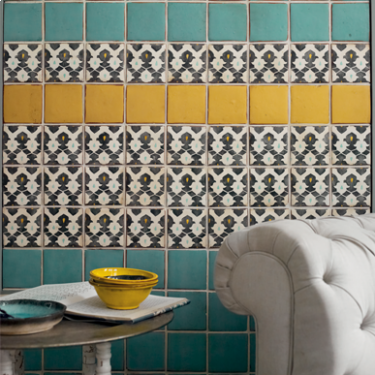 Fired earth marrakech Tile room styling