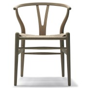 Wishbone chair skandium