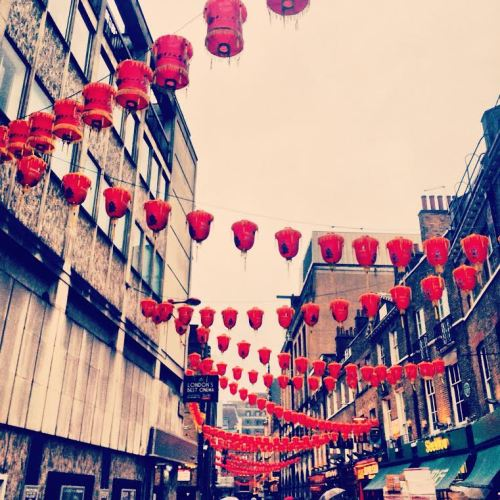 Chinatown Chinese Lanterns New Year London