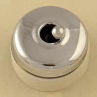 Dolly Light switch white