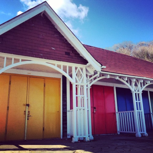 Beach Huts, Scarborough