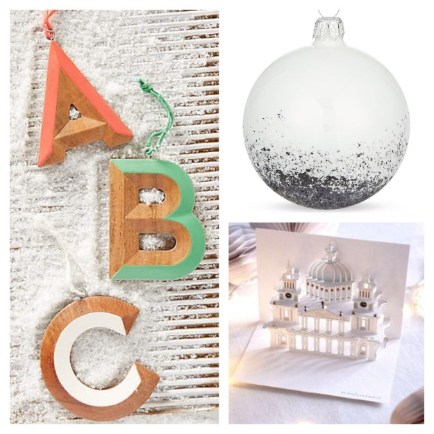 Alphabet christmas tree decorations pop up st pauls