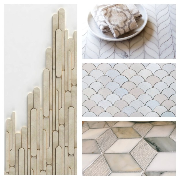 marble tiles shapes