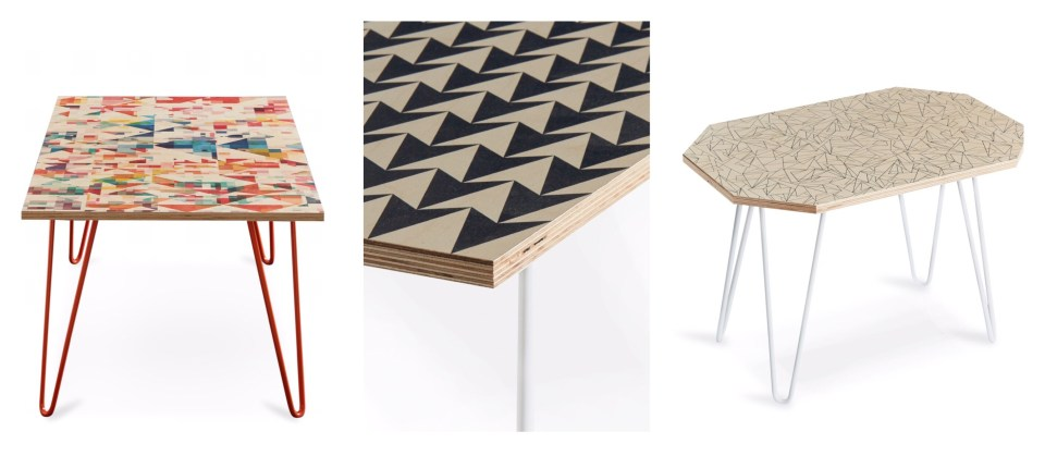 Studio-Flock-geometric surface pattern ply furniture