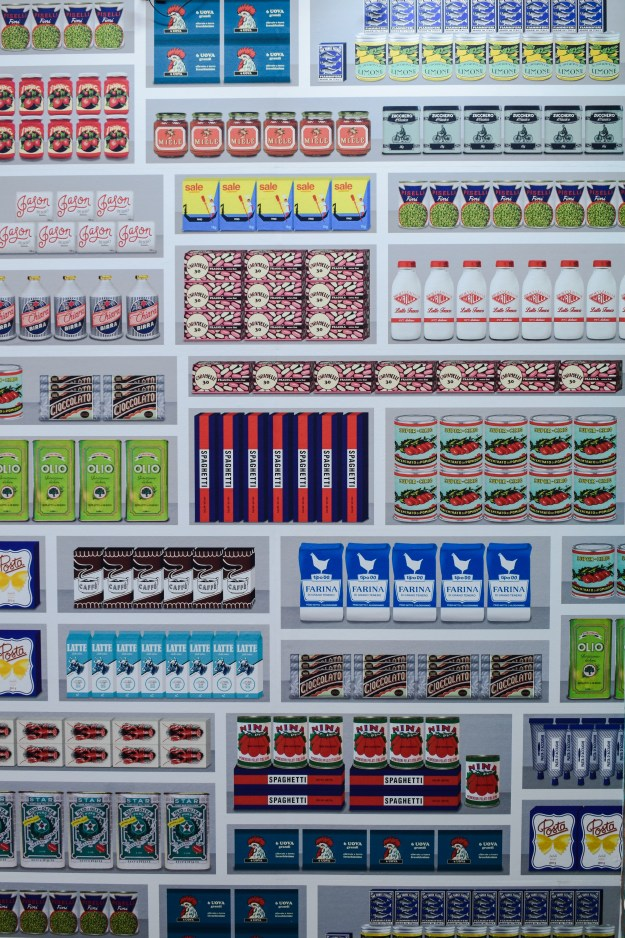 NLXL supermarket wallpaper, 100% design 2016