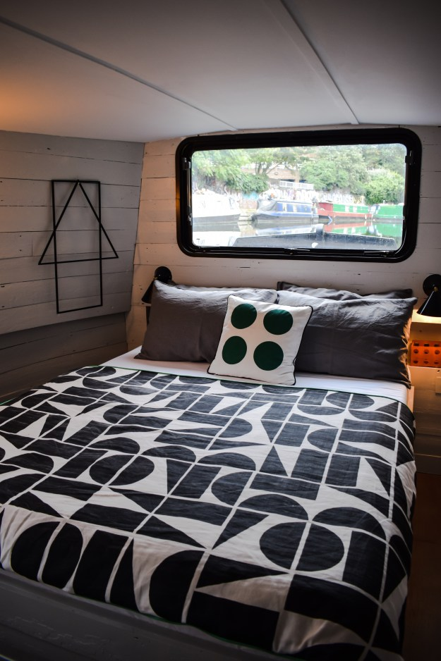 Bert and May x Darkroom collaboration, fabric barge, london design festival 2016