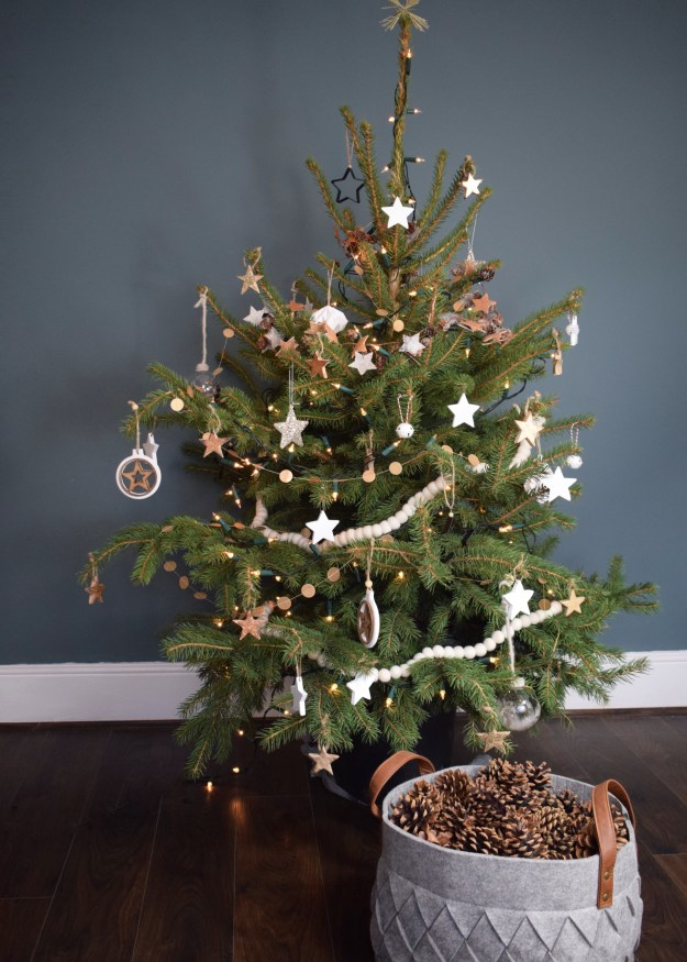 Christmas styling nordic white scandinavian tree ideas and inspiration