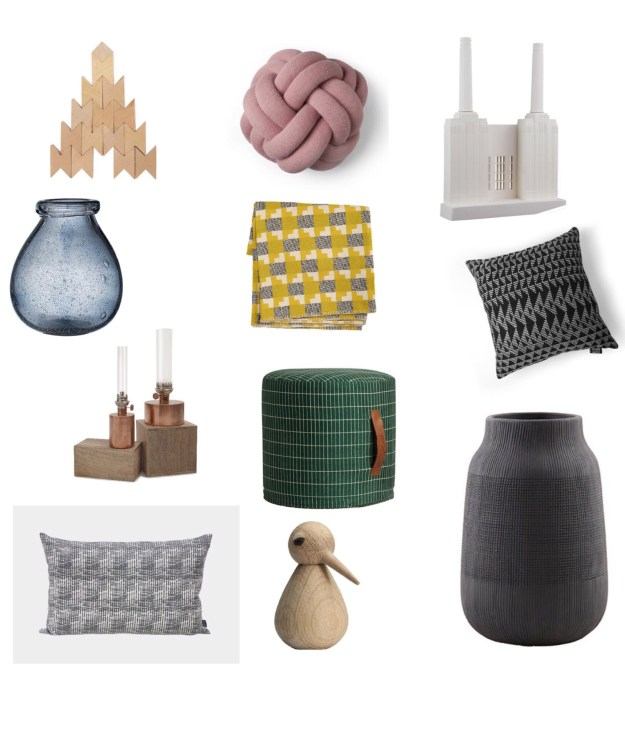Design Lovers Gift Guide 2016 Scandi Homewares