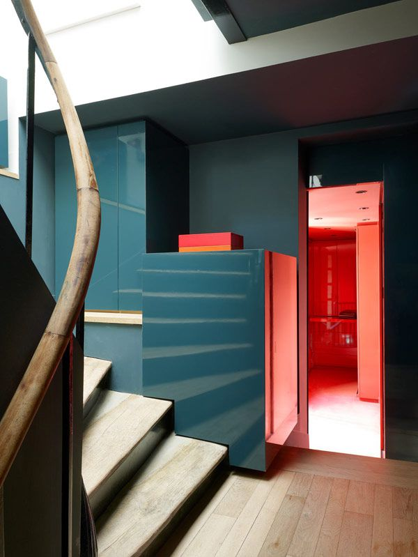 PINK inspiration in design and architecture, ideas for using pink interiors - larroque8