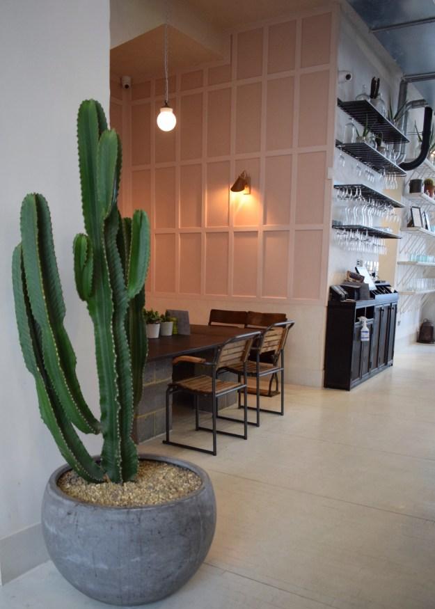 Chiswick fire station decor pink kingsize cactus