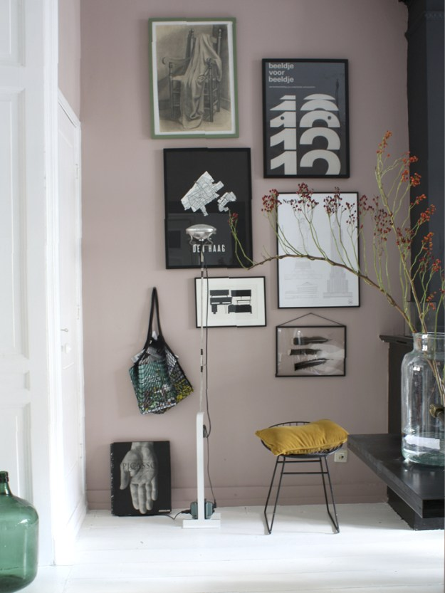 Light Peach blossom by Litttle Greene in the home of Theobert Pot.