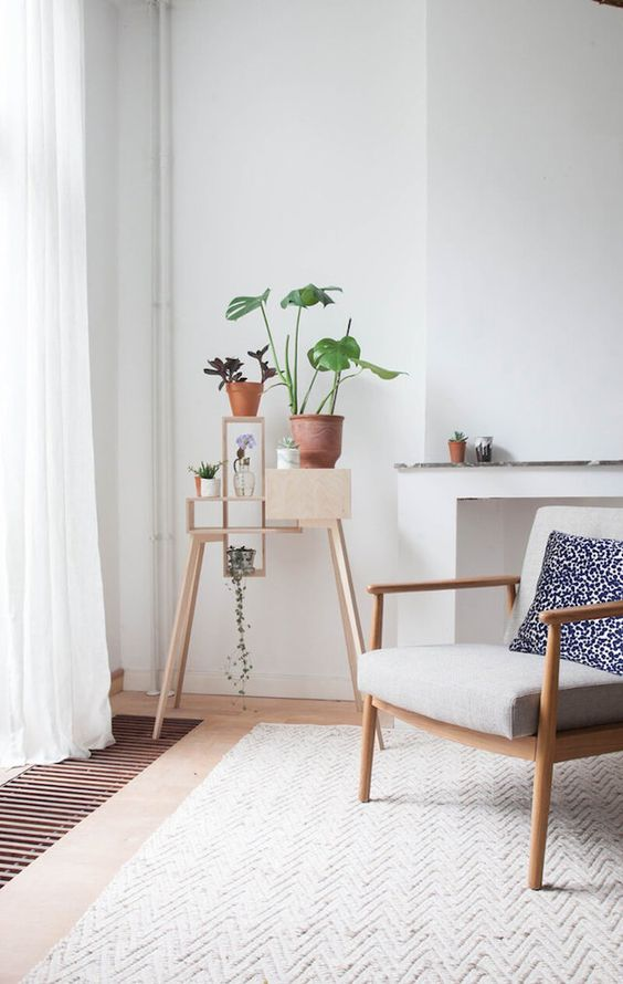 scandinavian white voile curtains