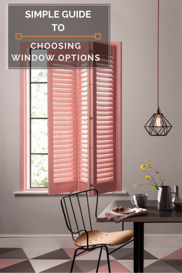 Design Elements Choosing modern & stylish blinds and shutters in home decoration. Interior design decisions for chic window dressing. Modern simple scandi interiors.