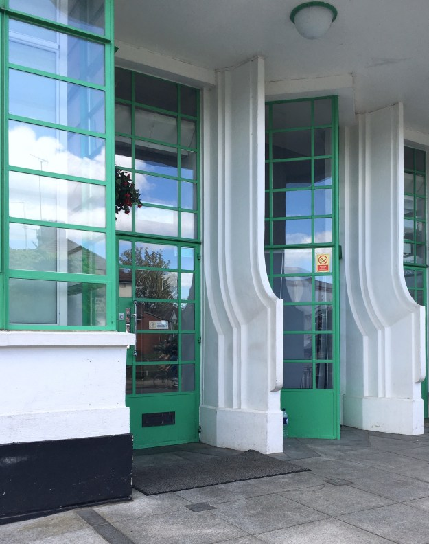Hoover Building London, Art Deco Architecture doors