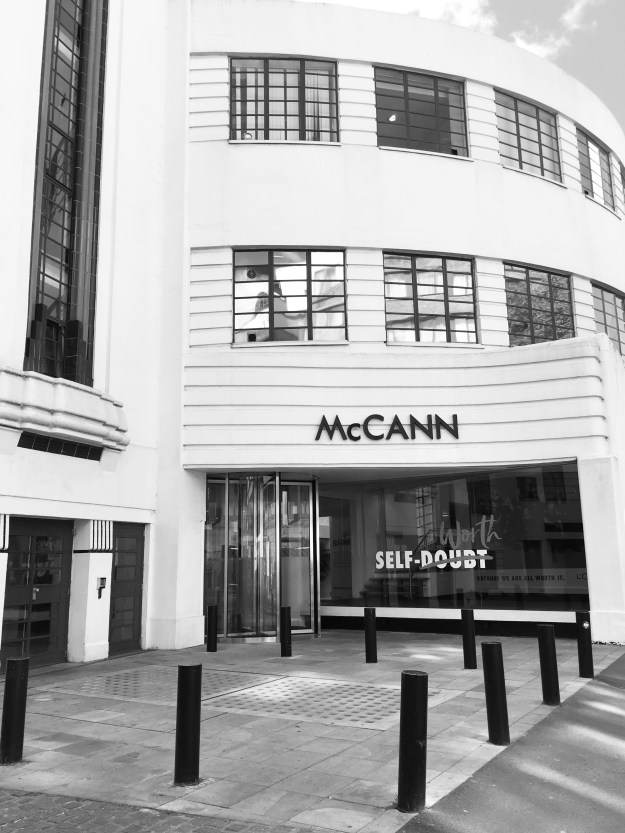 McCann Erikson London Advertising Agency, art deco building bloomsbury