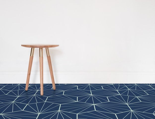 Atrafloor Starburst, Patterned Vinyl Flooring options, ideas and inspiration for interior decor