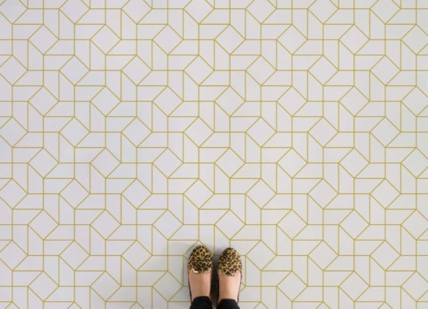 Atrafloor octavius-feet Patterned Vinyl Flooring options, ideas and inspiration for interior decor