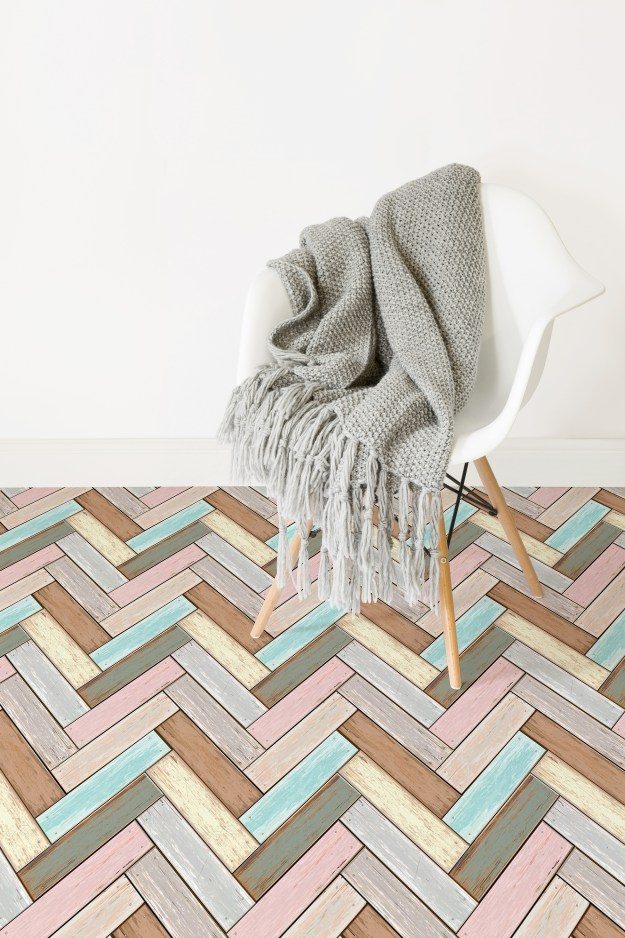 Atrafloor parquet-lifestyle Patterned Vinyl Flooring options, ideas and inspiration for interior decor