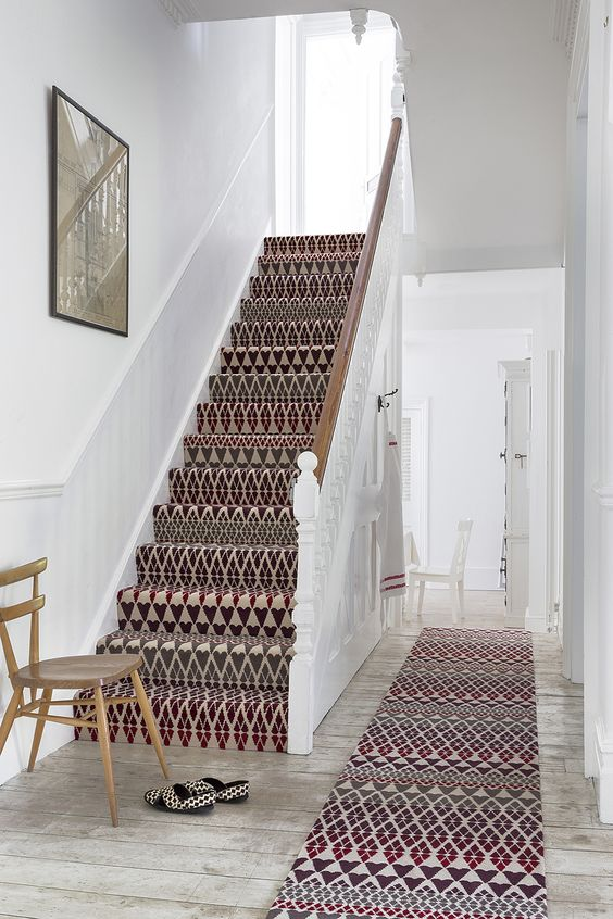 Interior Decor, ideas and inspiration for statement stairs design Margo Selby