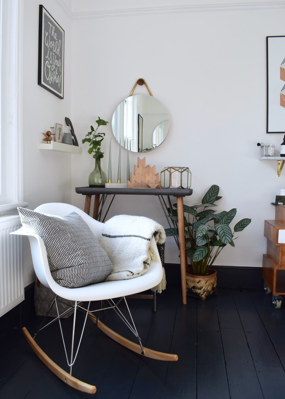 ikea faux plants foliage scandinavian bedroom interior styling ideas and inspiration