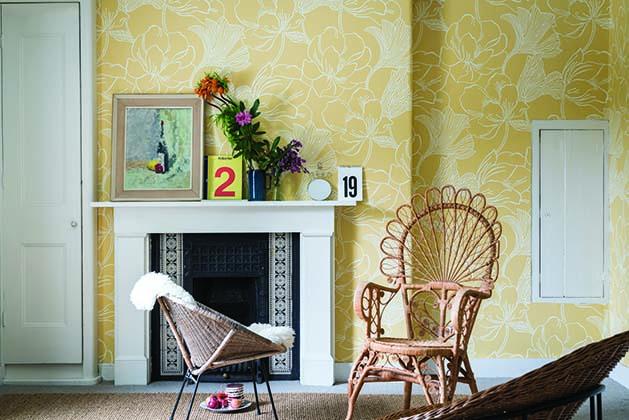 Helleborus New Farrow & Ball Wallpaper designs 2017 Floral (2)